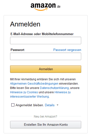 Amazon Partnerprgramm Registrieren