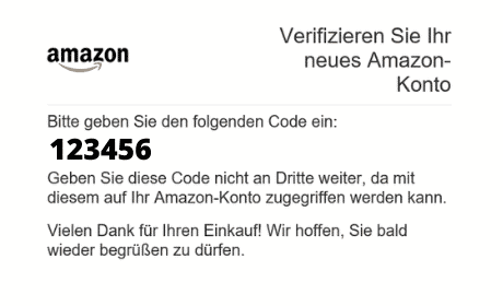 Amazon Partnerprogramm Konto 03 Registrieren Code EMail 02