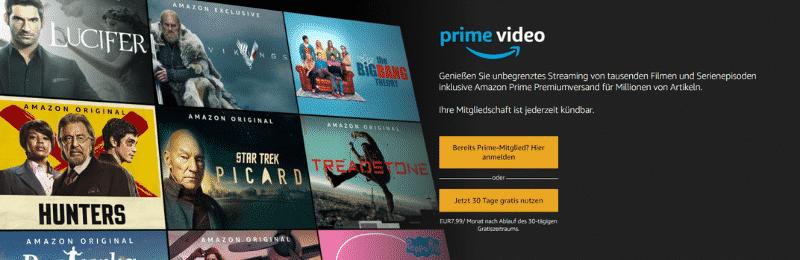 Amazon Partnerprogramm Bounty Event Amazon Prime Video
