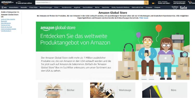 Amazon Partnerprogramm - Globes Store