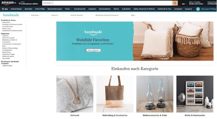 Amazon Partnerprogramm - Handmade
