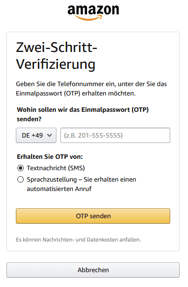 Amazon Partnerprogramm Konto Registrieren Bankverbindung Telefon