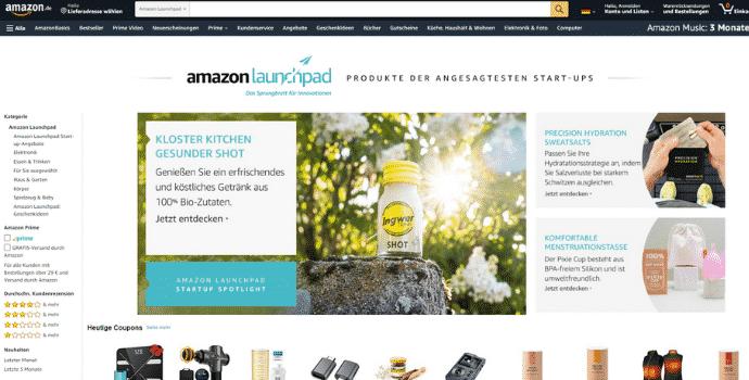 Amazon Partnerprogramm - Launchpad