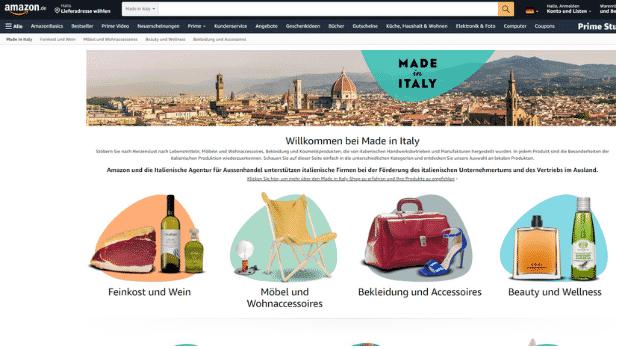 Amazon Partnerprogramm - Made in Italy