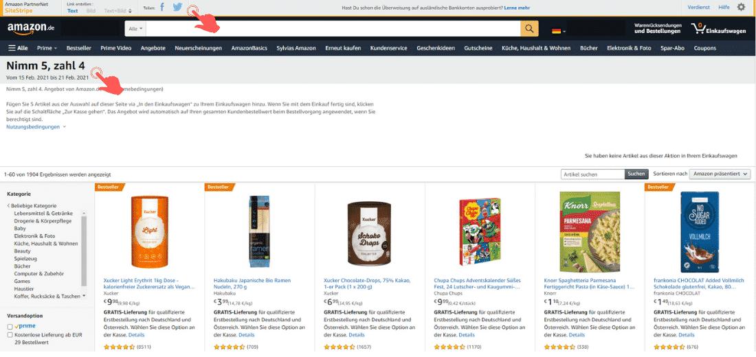 Amazon Partnerprogramm - Website Optimieren - Ideen-Hub - Link für Deals