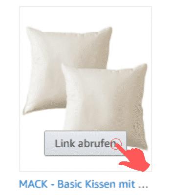 Amazon Partnerprogramm - Werbemittel - Produktlinks - Bestseller Kategorie Link abrufen