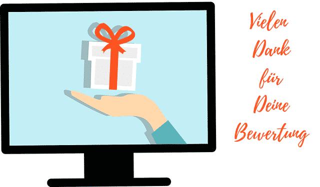 Bewertung Geschenk
