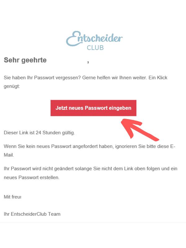 Entscheiderclub - Passwort vergessen E-Mail Neu anfordern