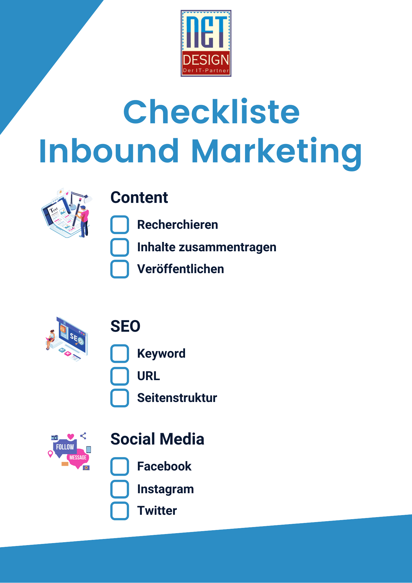 Inbound Marketing Checkliste