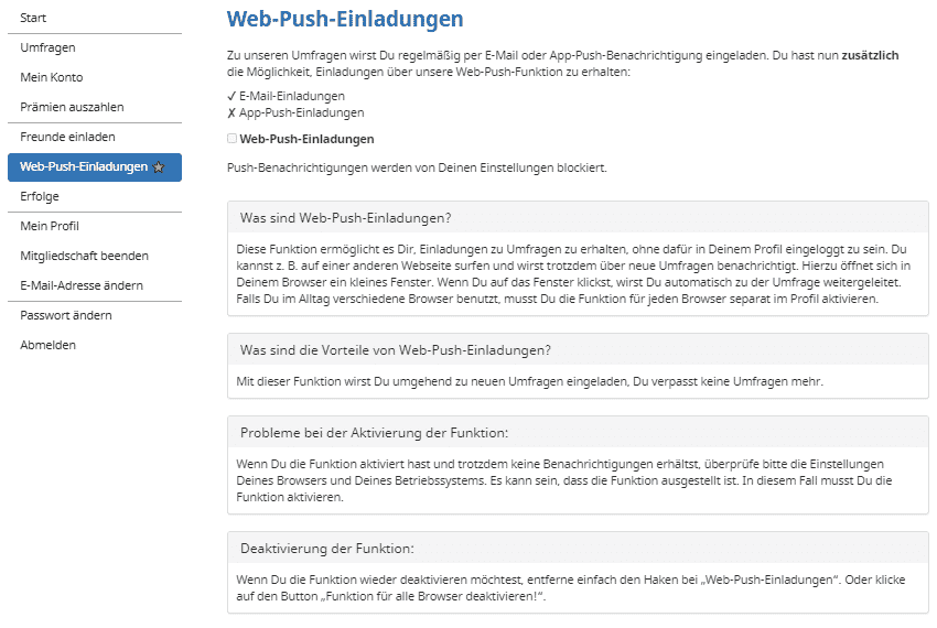 Mobrog - Account Web-Push