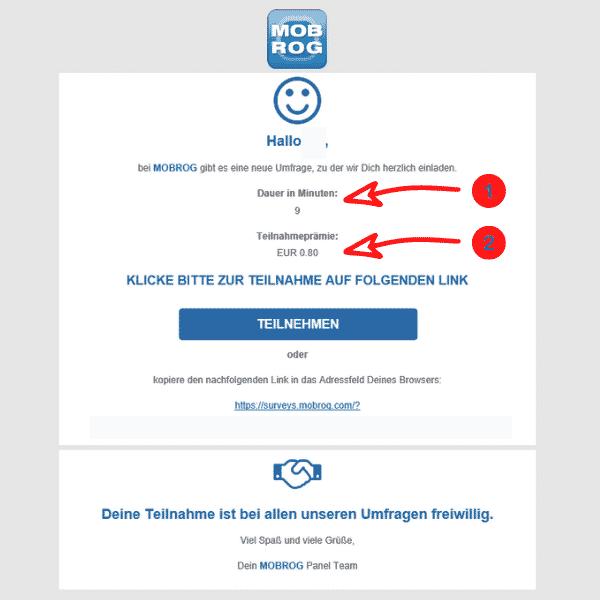 Mobrog - Einladung Informationen