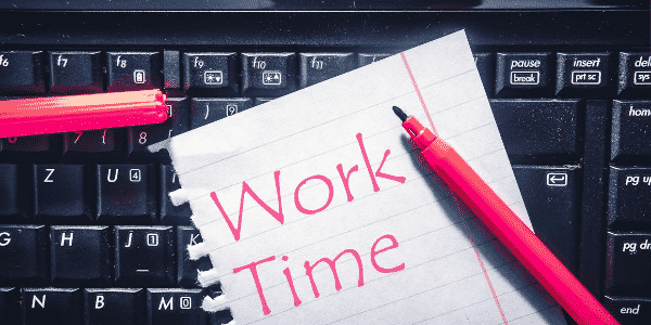 Online Business - Work Time