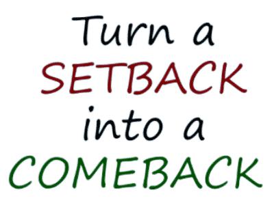Online-Business selbstständig werden - Setback