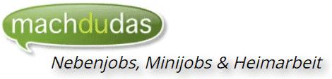 Schnell Geld verdienen - machdudas - logo