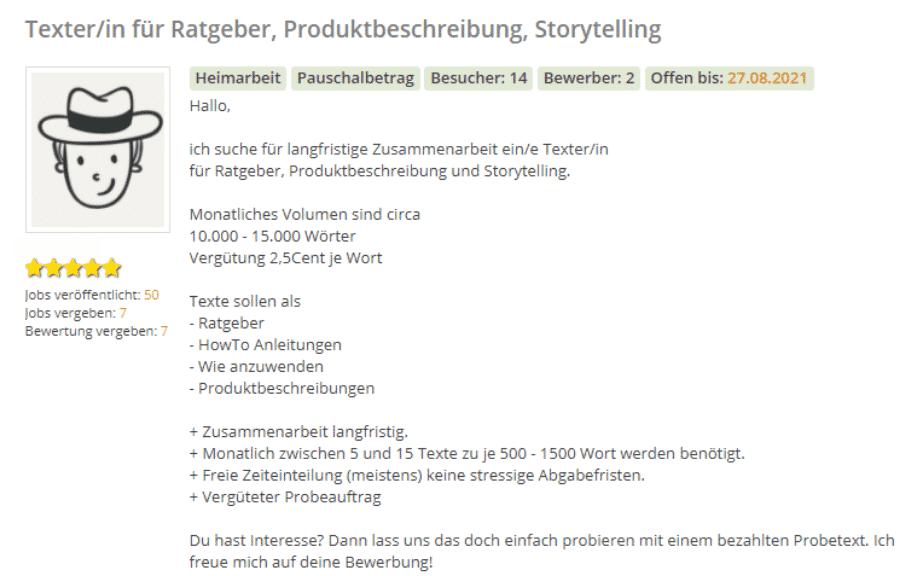 Schnell Geld verdienen - machdudas.de - Job