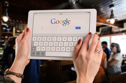 Tablet mit Google.de