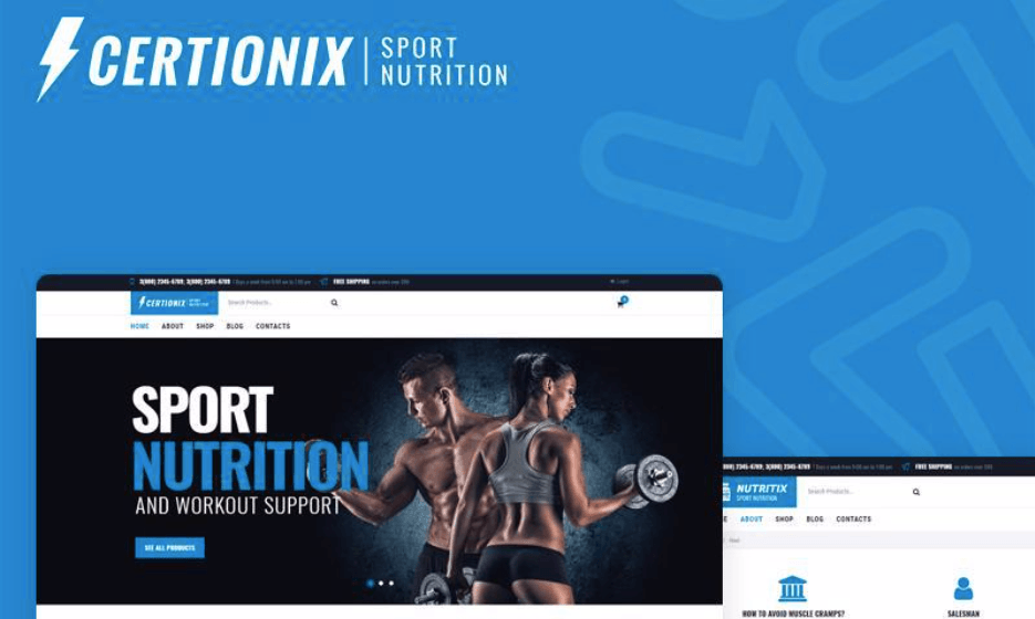 Certionix Shop Theme
