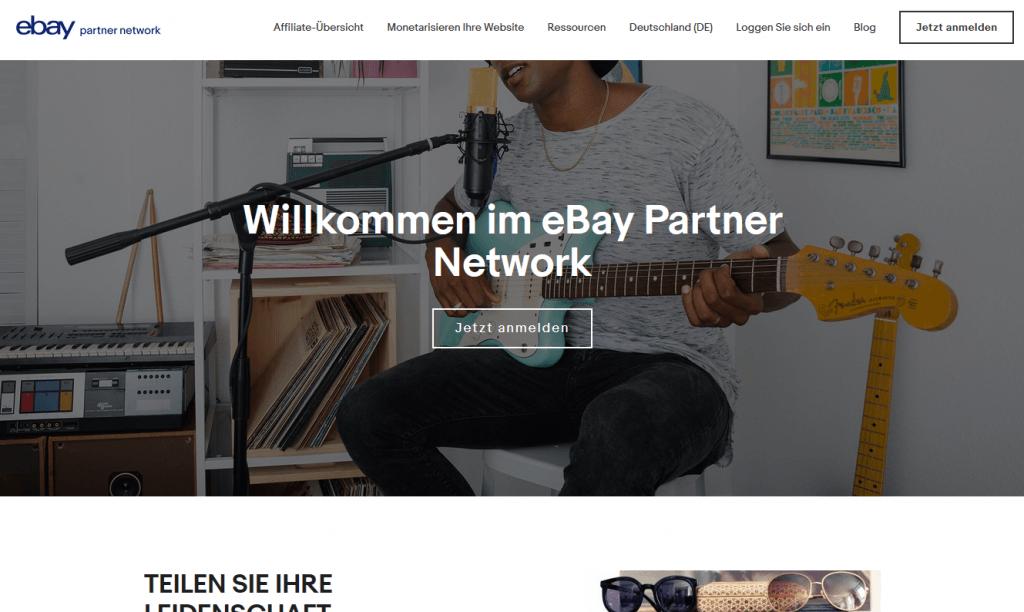 Ebay Partnerprogramm
