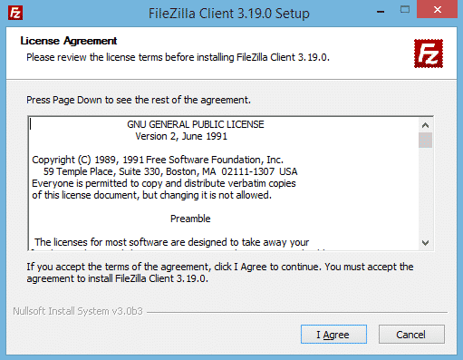 Filezilla installieren