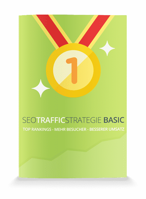 Cover der SEO Traffic Strategie Basic