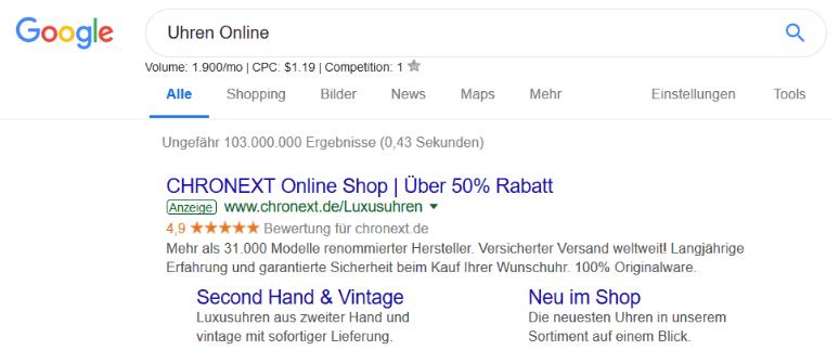 Google Ad Anzeigentext optimieren