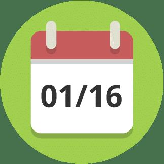 Januar 2016 Kalender