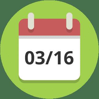 März 2016 Kalender