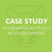 Case Study zum Google Ranking