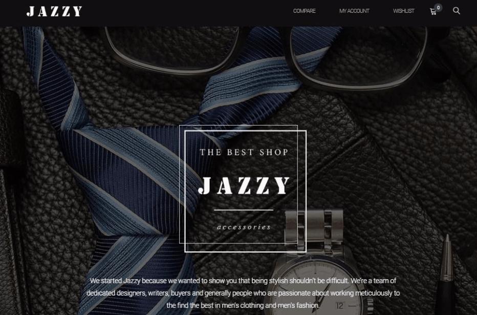 Jazzy WooCommerce Shop