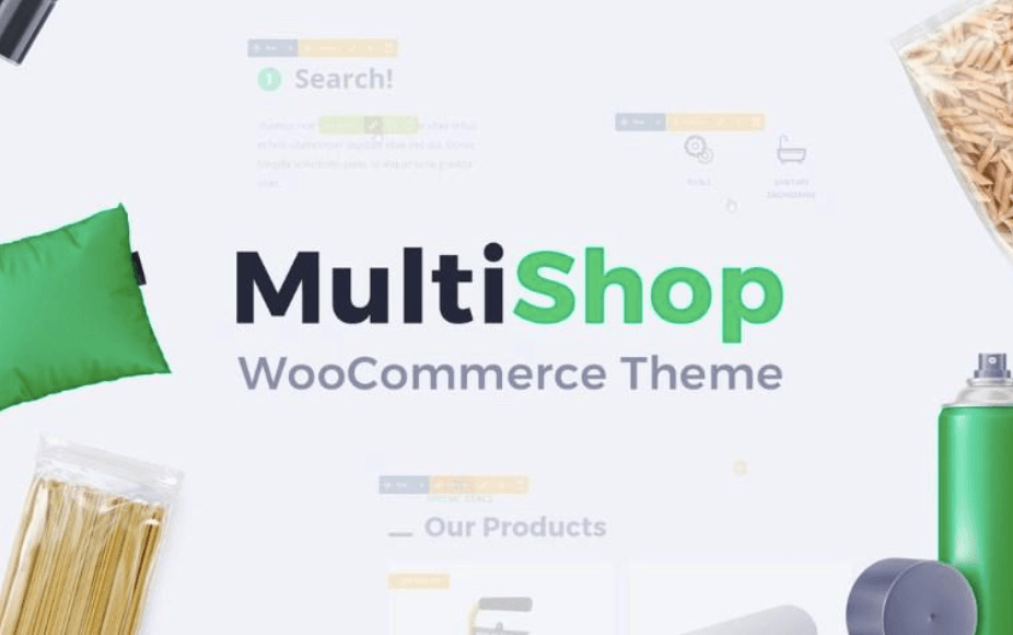 "WooCommerce Theme ""Multishop"""
