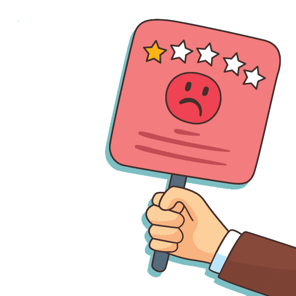 Negative Google Bewertung - was tun?