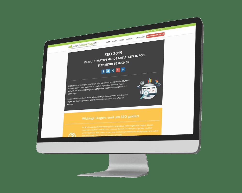 Online Marketing Site