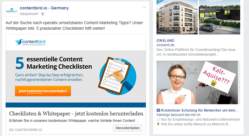 Social Media Marketing bei Facebook