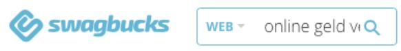 Swagbucks Suchfunktion