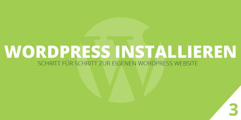 WordPress installieren – die ultimative 5 Minuten Anleitung